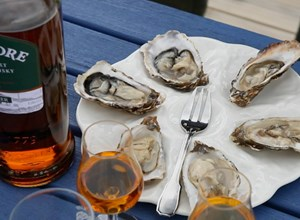 Oysters meet Whisky
